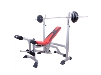 MULTI GYM STATION INSPORTLINE LKM904, WEIGHTS INCLUDED