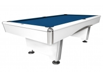 Billiard Table Dynamic Triumph, matt white, Pool, 8ft.
