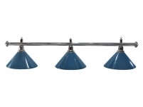 Billiard lamp Blue 3 bells