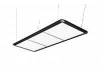 Pool Table Light, LED Flat, black, 195 x 70 x 6,5 cm