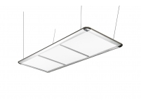 Pool Table Light, LED Flat, silver, 195 x 70 x 6,5 cm