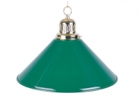 Billiard Lamp, green, Ø 35 cm