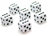 Metamais kauliņš balts 16mm