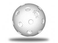 Trix floorball ball - white