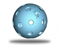 Trix floorball ball - cyan blue