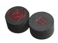 Tip Black Heart Stroke, 14 mm, soft (S)