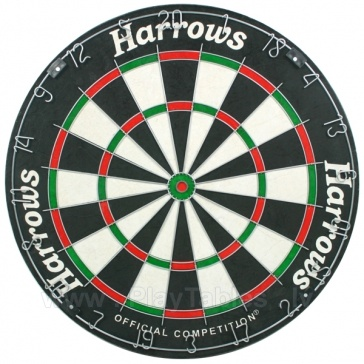 Harrows Offical Competition Bristle Dartboard